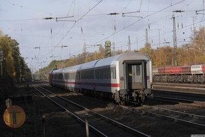 101 035-4 DB IC1926 Berlin Ost Bhf. 13-11-2017 Recklinghausen-Süd
